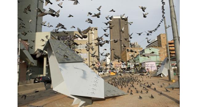 Pigeon Square   Gerhard Marx & Maja Marx   2009